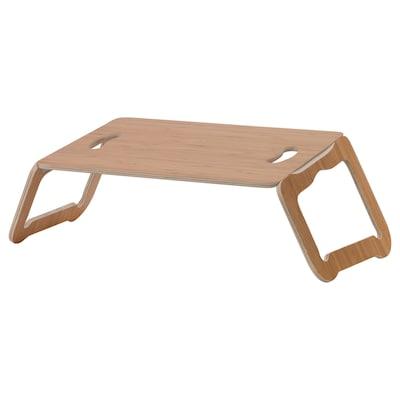 BRÄDA Laptopondersteuning, bamboefineer, 42x30 cm