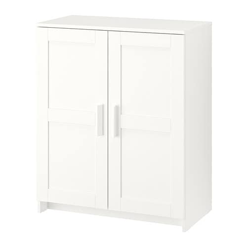 Witte Ikea Wandkast.Brimnes Kast Met Deuren Wit Ikea
