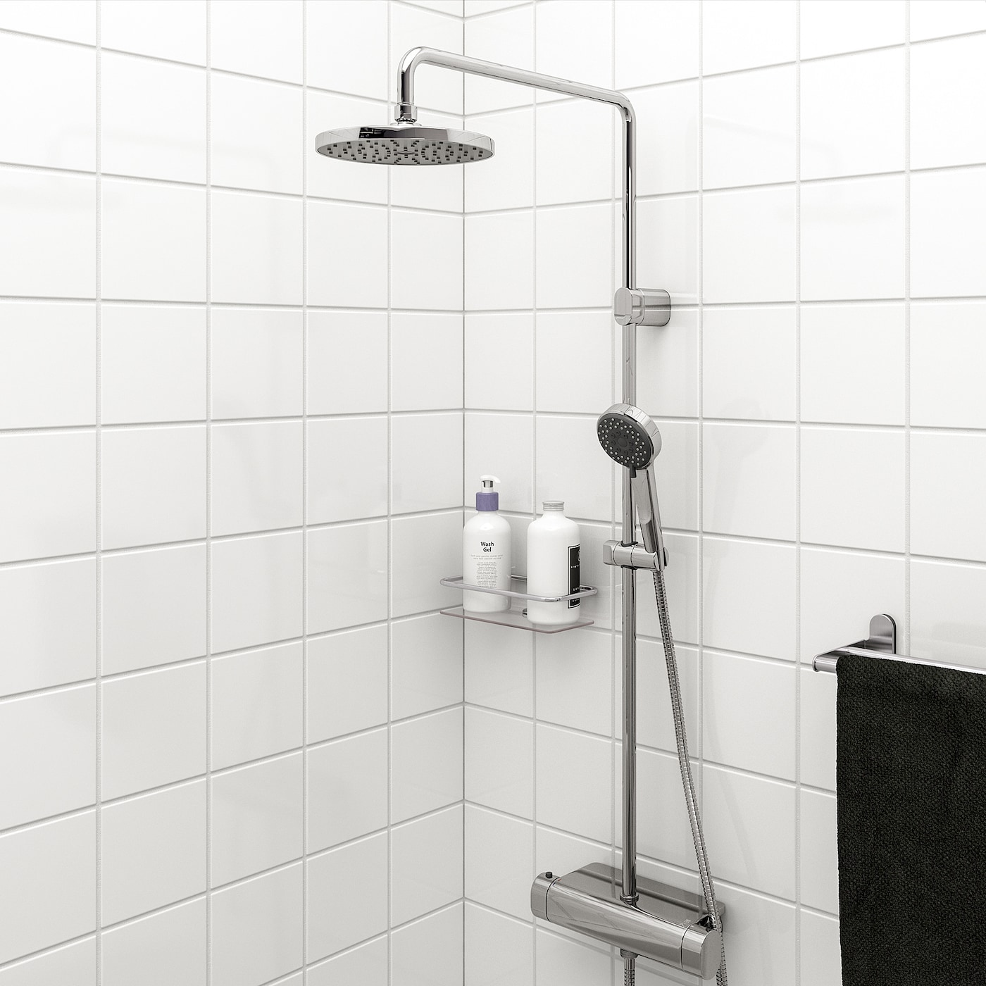 IKEA BROGRUND Doucheset met thermostaatmengkraan