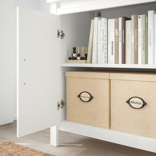 BRUSALI hoge kast met deur wit 80 cm 48 cm 190 cm