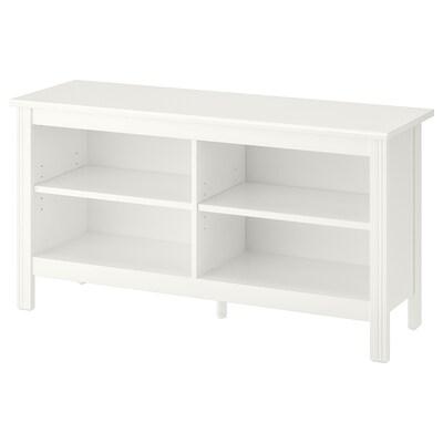 BRUSALI tv-meubel wit 120 cm 36 cm 62 cm 25 kg 20 kg