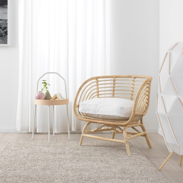 BUSKBO fauteuil rotan 42 cm 72 cm 63 cm 75 cm 12 cm 43 cm 52 cm 32 cm