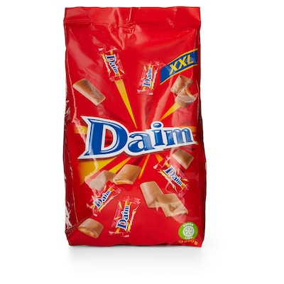 DAIM MINI melkchocolade met butterscotch 460 g
