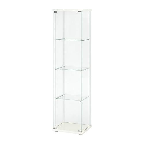 Vitrinekast Hangend Ikea.Detolf Vitrinekast Wit Ikea