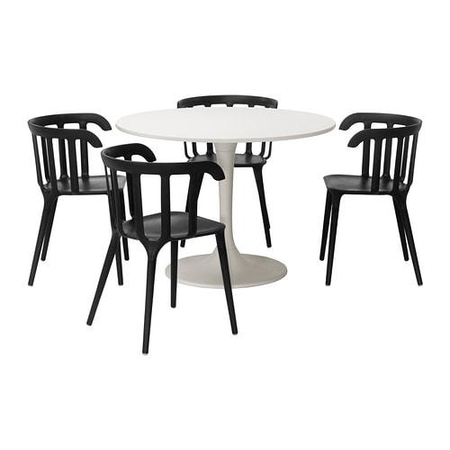 Docksta ikea ps 2012 tafel en 4 stoelen ikea for Ikea kinderstoel en tafel