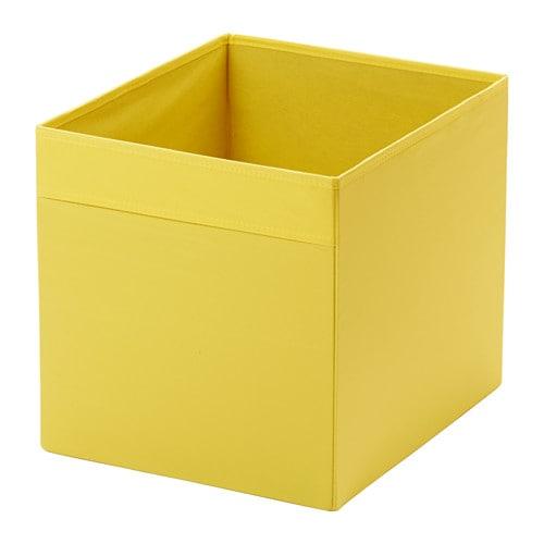 Ikea Keuken Geel : Yellow IKEA Drona Box