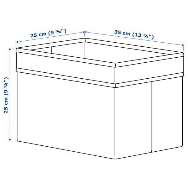 DRÖNA Bak, zwart, 25x35x25 cm
