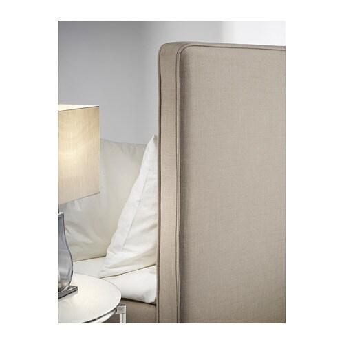 dunvik boxspring hyllestad stevig tustna donkerbeige. Black Bedroom Furniture Sets. Home Design Ideas