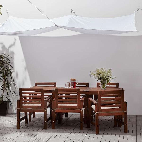 DYNING Schaduwdoek, wit, 300x200 cm