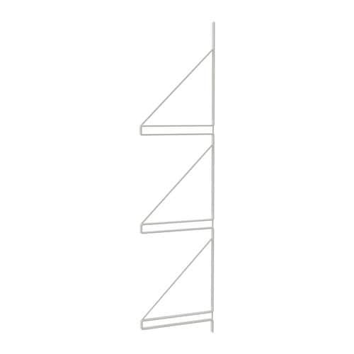 Badkamer Spiegelkast ~ EKBY G?LL? Wandrek IKEA Kan 3 planken dragen zodat je meer