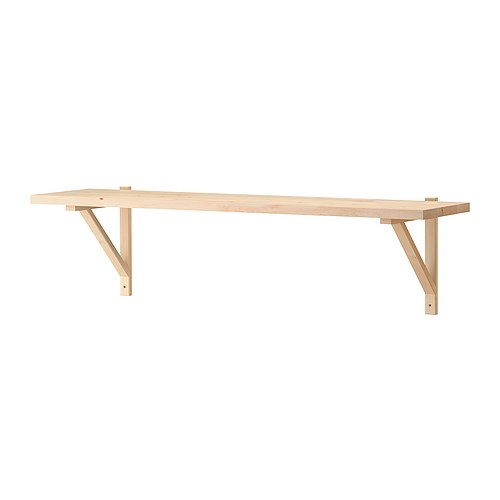 ekby j rpen ekby valter wandplank berkenfineer ikea. Black Bedroom Furniture Sets. Home Design Ideas
