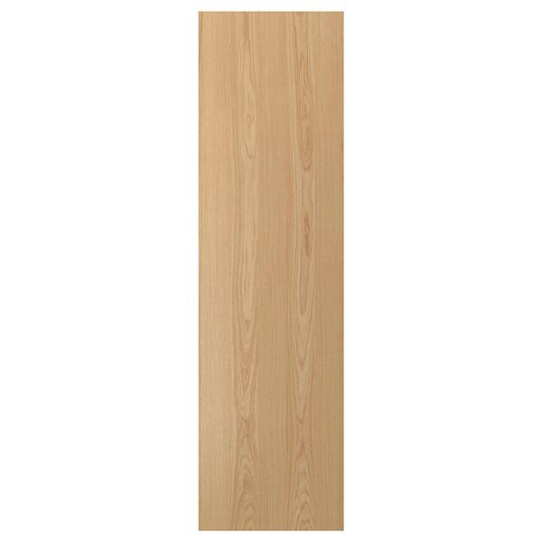 EKESTAD Bedekkingspaneel, eiken, 62x220 cm