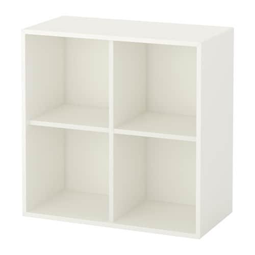 EKET Kast met 4 vakken   wit   IKEA