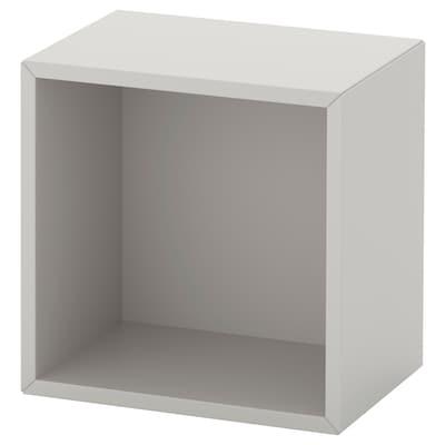 EKET Open kast wandmontage, lichtgrijs, 35x25x35 cm