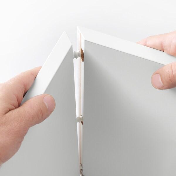 EKET open kast met 4 vakken wandmontage donkergrijs 70 cm 35 cm 70 cm