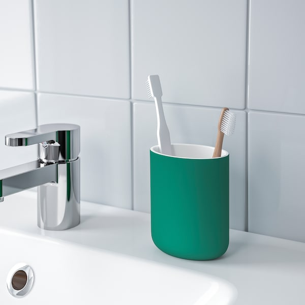 EKOLN Tandenborstelhouder, groen
