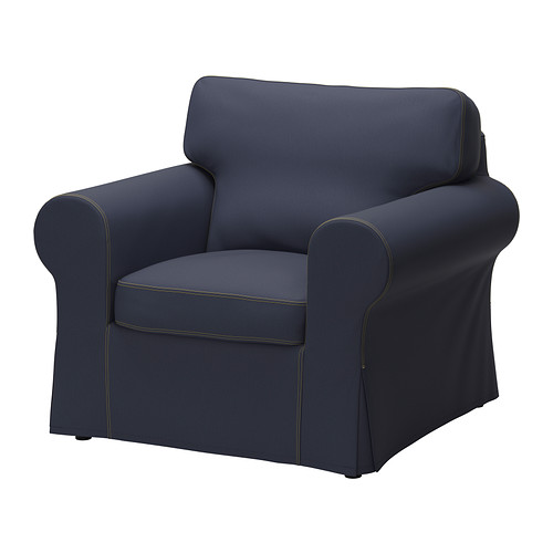 ektorp fauteuil jonsboda blauw ikea. Black Bedroom Furniture Sets. Home Design Ideas