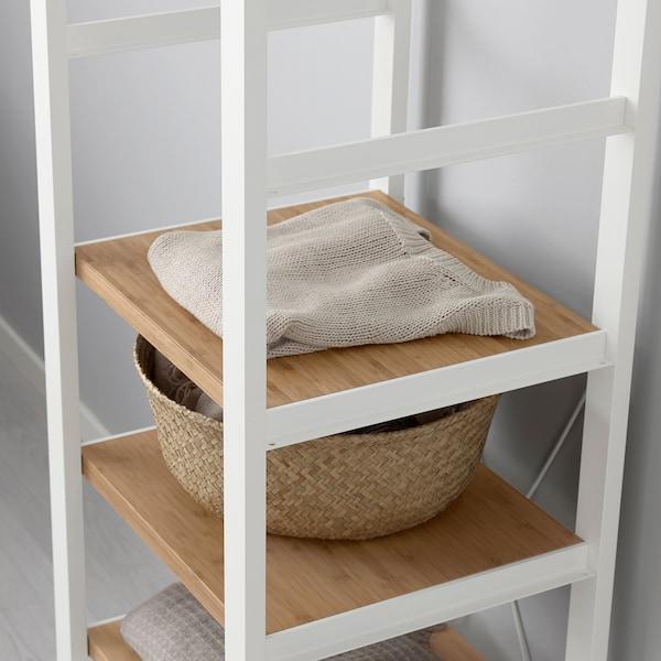 ELVARLI Zijpaneel, wit, 36x216 cm