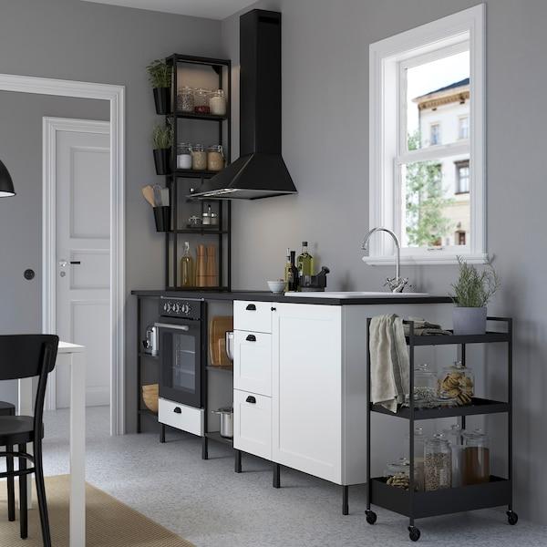 Enhet Keuken Antraciet Wit Frame Ikea