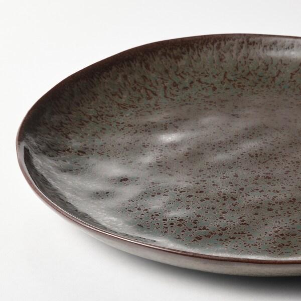 ERTAPPAD Schaal, turkoois/bruin, 34 cm