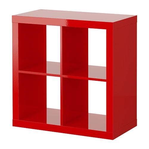 Keuken Rood Ikea : IKEA Red EXPEDIT Shelving Unit