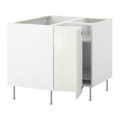 Keuken Carrousel Ikea : IKEA White Corner Cabinet