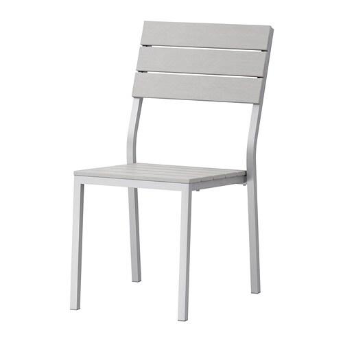 falster stoel buiten grijs ikea. Black Bedroom Furniture Sets. Home Design Ideas