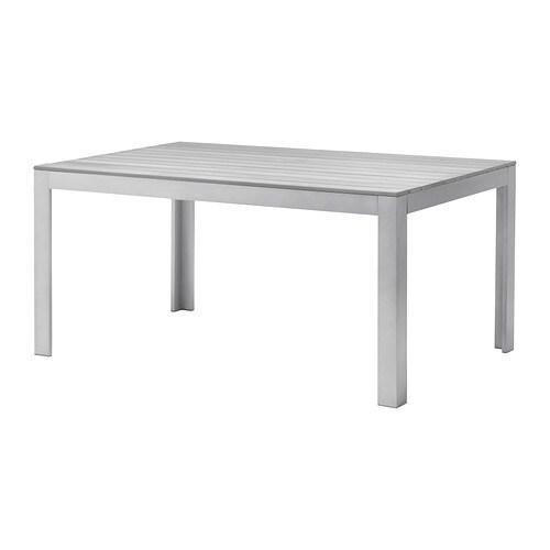Falster tafel buiten grijs ikea - Ikea table jardin aluminium saint etienne ...
