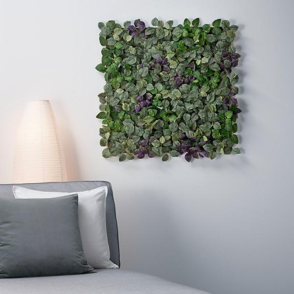 Fejka Kunstplant Wandgemonteerd Binnen Buiten Groen Paars Ikea