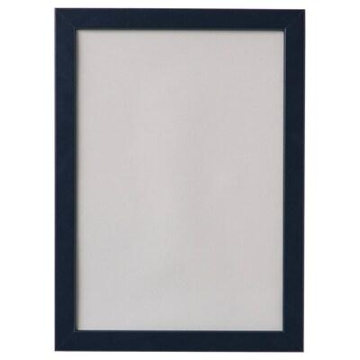 FISKBO Fotolijst, donkerblauw, 21x30 cm