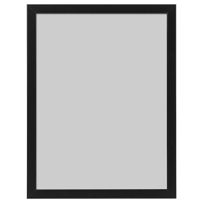 FISKBO Fotolijst, zwart, 30x40 cm