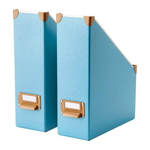 Ikea Keuken Blauw : IKEA Magazine File Holder Boxes