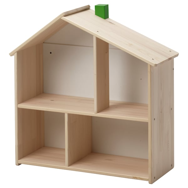 FLISAT poppenhuis/open kast 58 cm 22 cm 59 cm