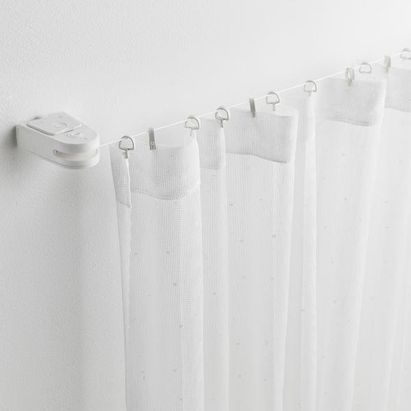 FÖRSYNT gordijnkabel wit 200 cm 2 kg