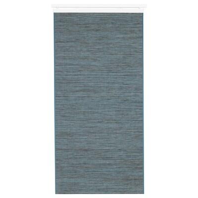 FÖNSTERVIVA Paneelgordijn, blauw/grijs, 60x300 cm