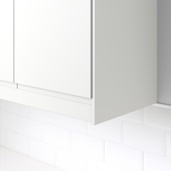 FÖRBÄTTRA Sier-/kroonlijst afgerond, mat wit, 221 cm