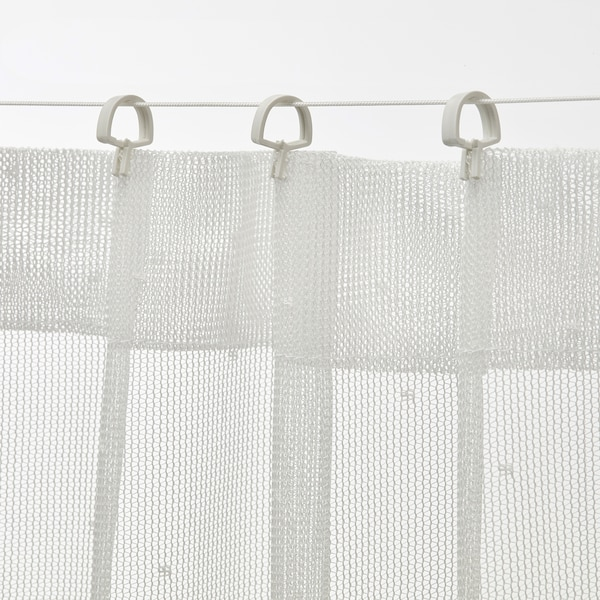 FÖRSYNT Gordijnkabel, wit, 200 cm