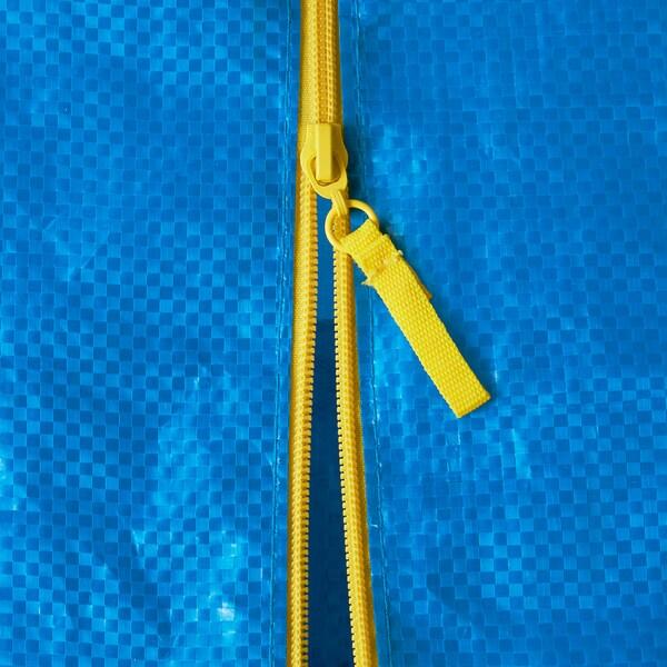 FRAKTA Tas voor steekwagen, blauw, 76 l