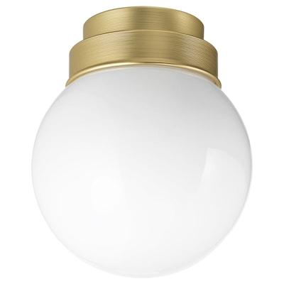 FRIHULT plafond-/wandlamp messingkleur 5.3 W 19 cm 16 cm