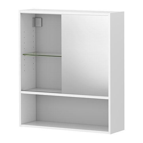 Mozaiek Badkamer Outlet ~ FULLEN Spiegelkast IKEA Je kan de plank verplaatsen en de afstand
