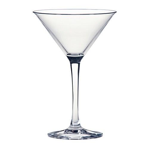 Fyrfaldig Martiniglas Ikea