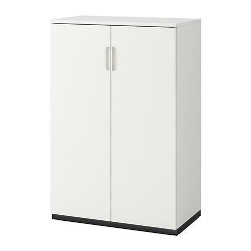Witte Ikea Wandkast.Galant Kast Met Deuren Wit Ikea