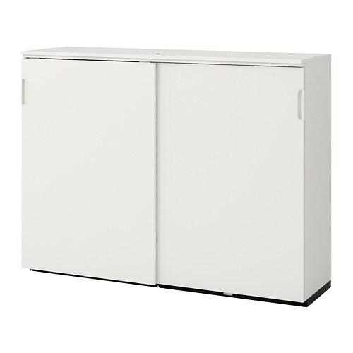 Wonderbaar GALANT Kast met schuifdeuren - wit - IKEA TV-65