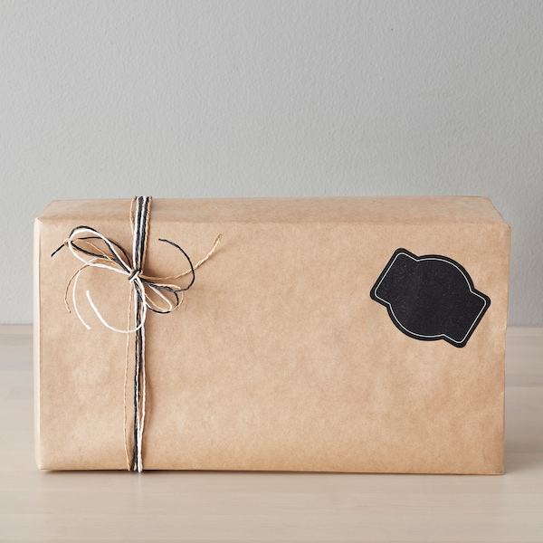 GIVANDE Rol cadeaupapier, naturel, 8x0.7 m