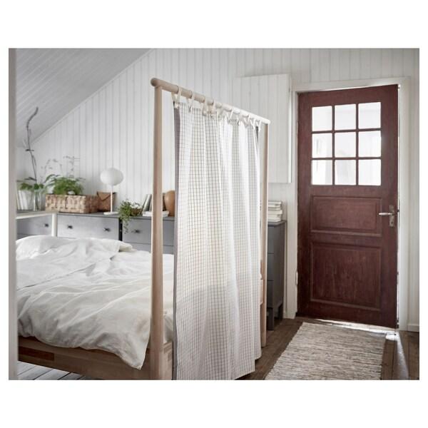 GJÖRA Bedframe, berken/Leirsund, 140x200 cm