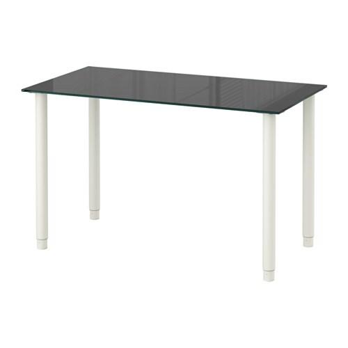 glasholm olov tafel glas zwart wit ikea. Black Bedroom Furniture Sets. Home Design Ideas