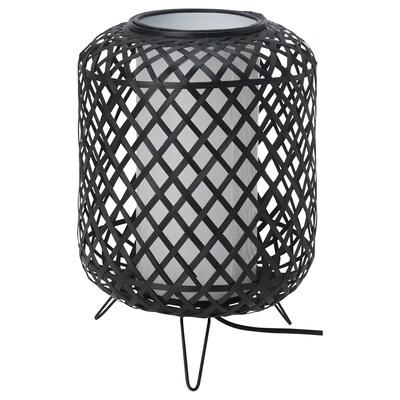 GOTTORP Tafellamp, zwart, 24x34 cm