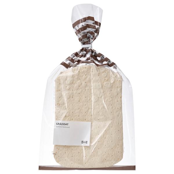 GRÄDDAT Zacht, dun platbrood, diepvries, 240 g