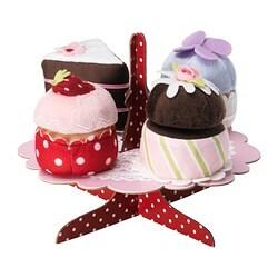 GRATTIS plateau met cupcakes, 5-delig