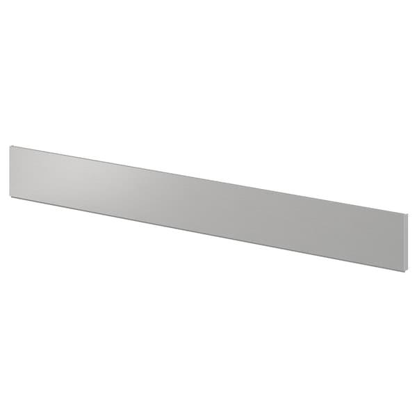 GREVSTA plint roestvrij staal 213.3 cm 11.4 cm 1 cm